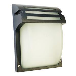 LED21 Přisazené venkovní svítidlo MATT BLACK 1xE27, černé WL7401
